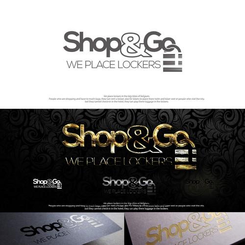 Design classylogo all over Belgium: Shop & Go :-)