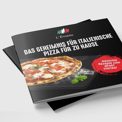 Pizza stone BOOKLET COVER DESIGN