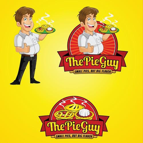 The Pie Guy Logo