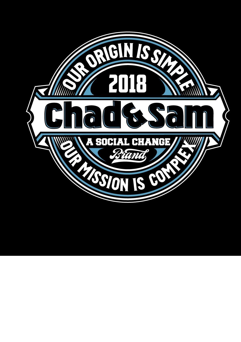 T-shirt design for non-profit brand launch