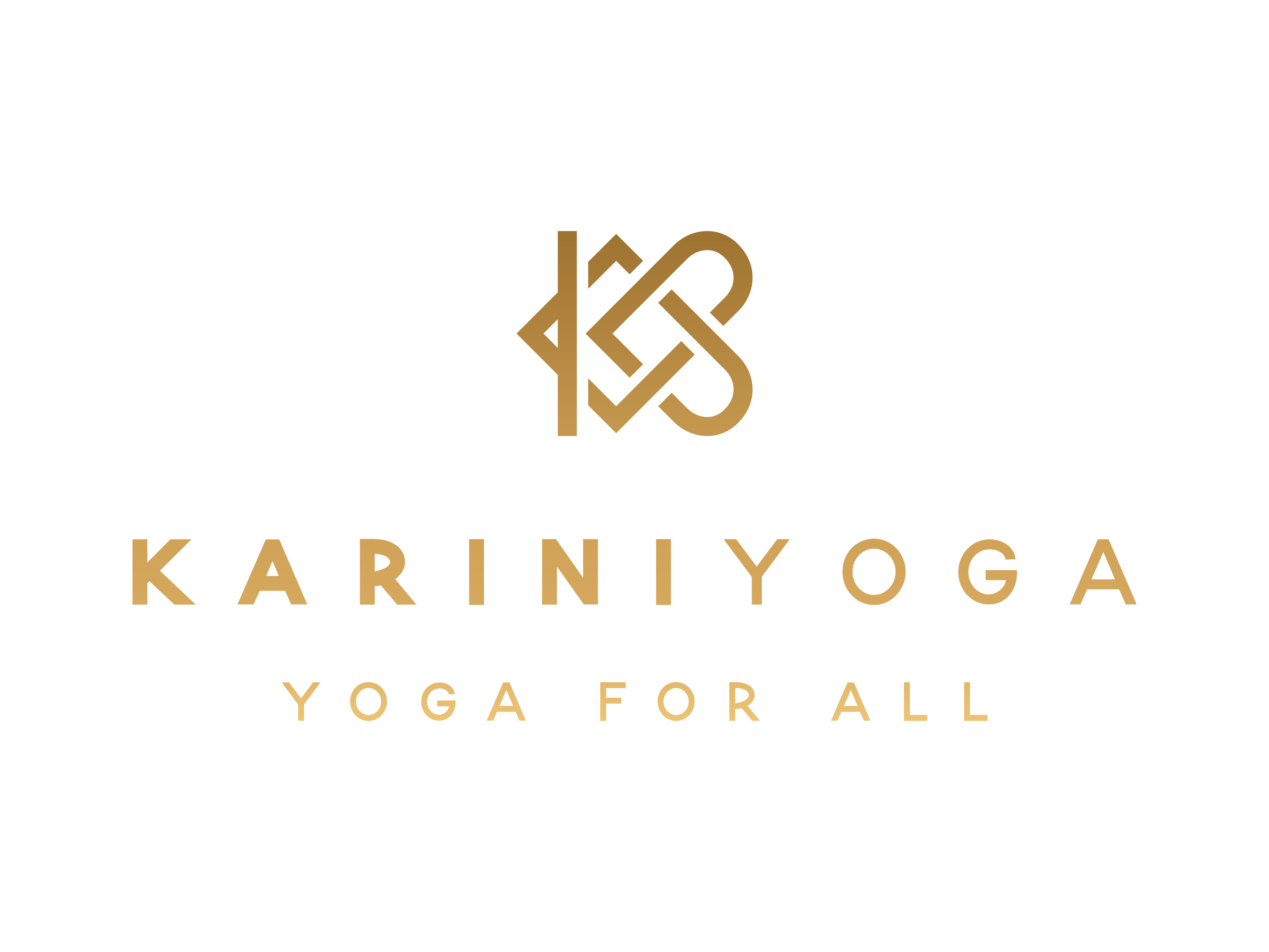 Logo design for an open-hearted, but kick ass and approachable new yoga studio