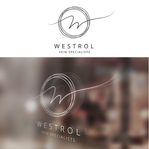 Logo for a WESTROL VEIN SPECIALISTS