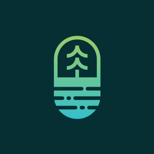 pill + oasis + pine
