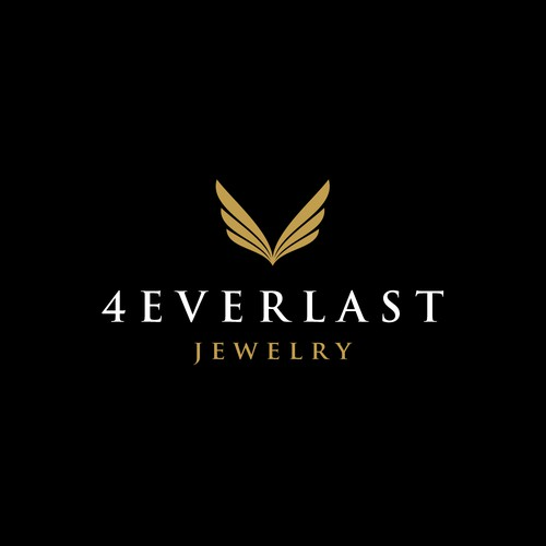 Create the perfect logo for 4EVERLAST a jewelry brand to be featured on television and print.