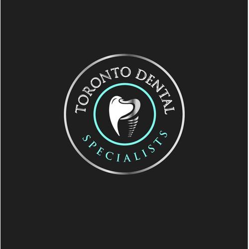 Clean Logo concept for Toronto Dental.