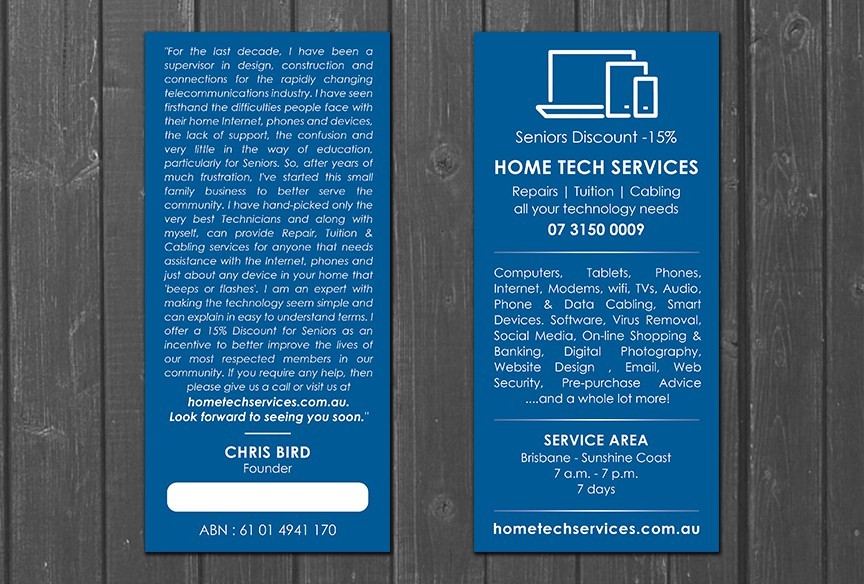 DL Flyer -HomeTech Services
