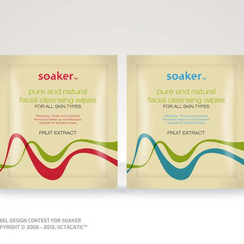 Soaker Product Packaging