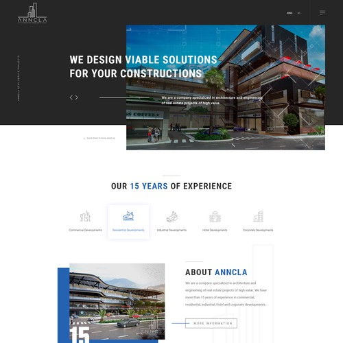 Anncla architechure website
