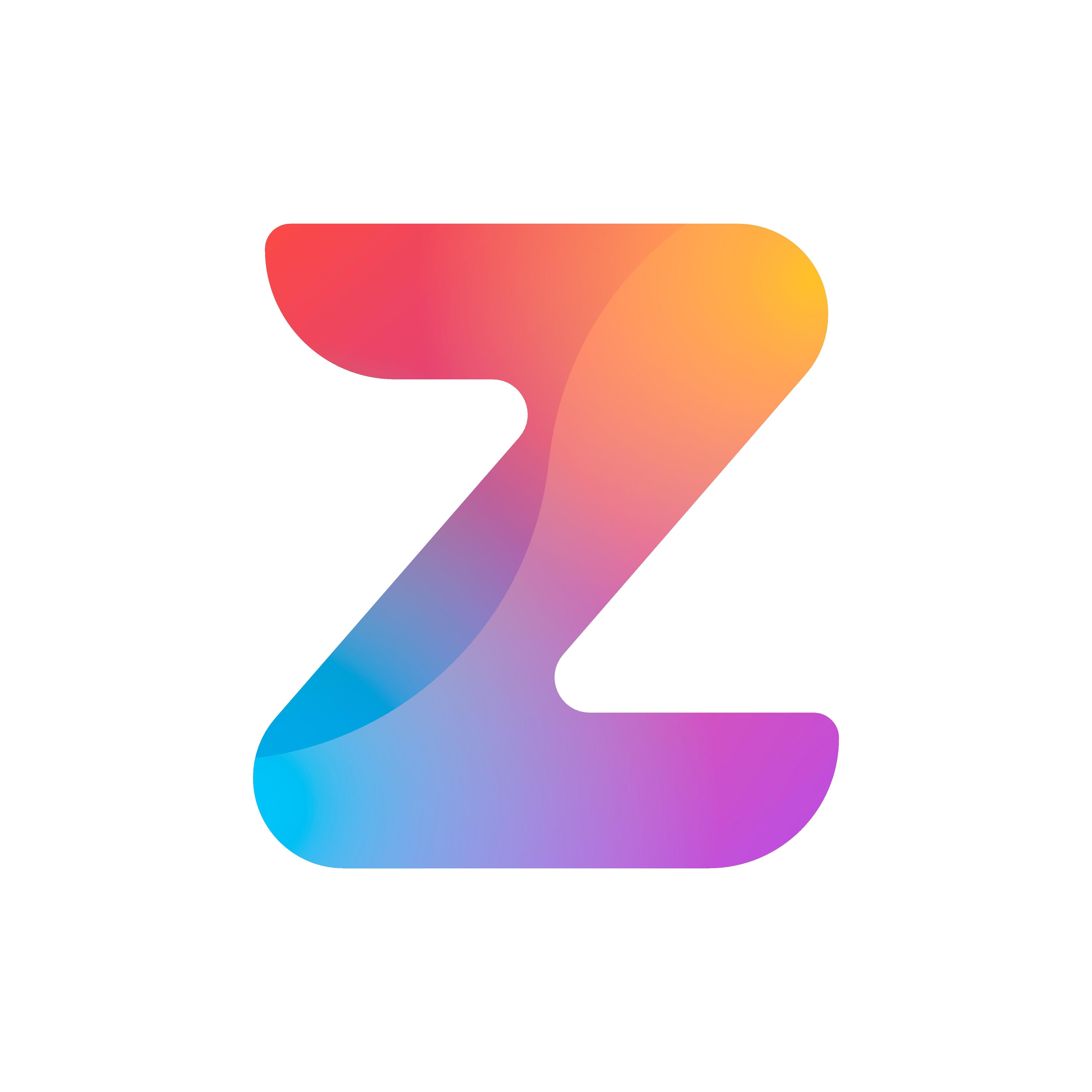 Create a colourful app icon for calendar app Zuper