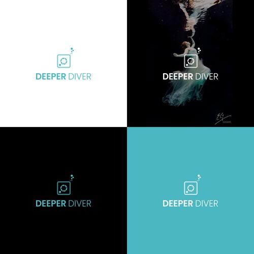 Deeper Diver Logo Concept