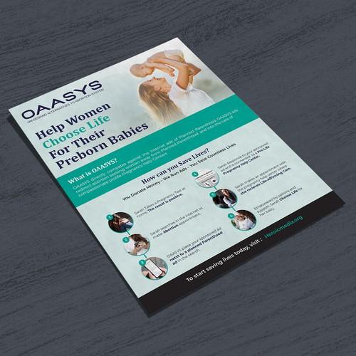 One Page Fyer Design