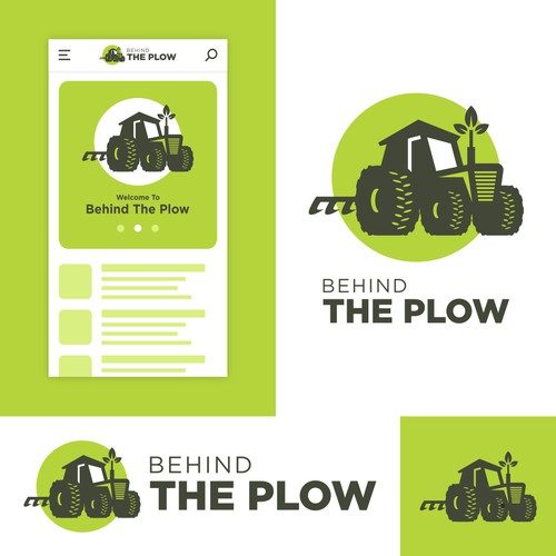 Behind The Plow Logo