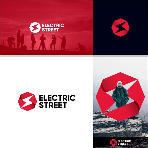 STRONG & MODERN LOGO CONCEPT FOR ELECTRIC STREET