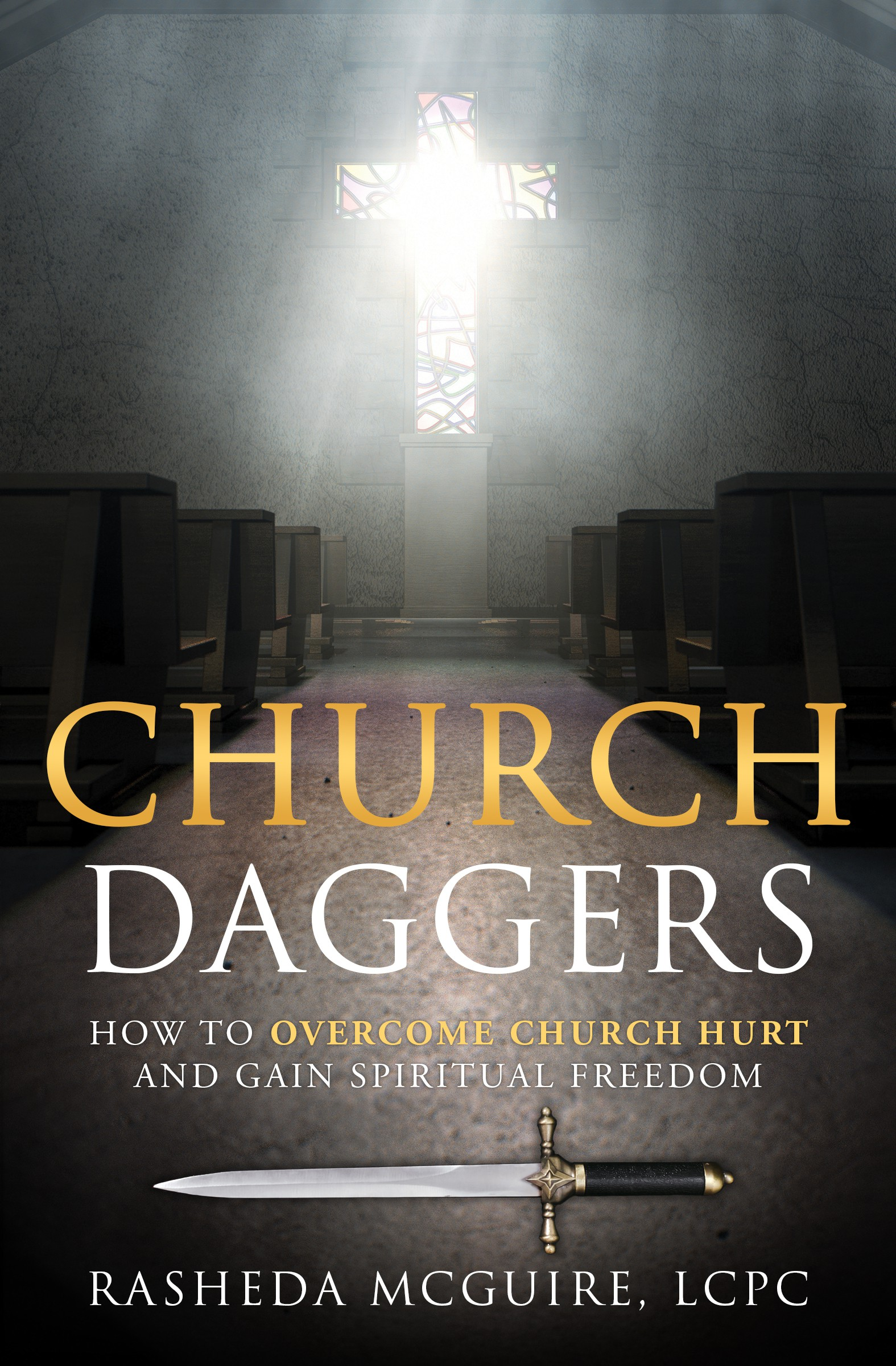 Church Daggers book needs a compelling cover