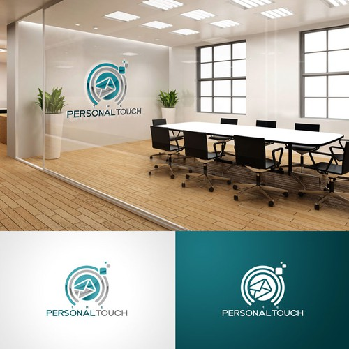 presonal touch logo designs
