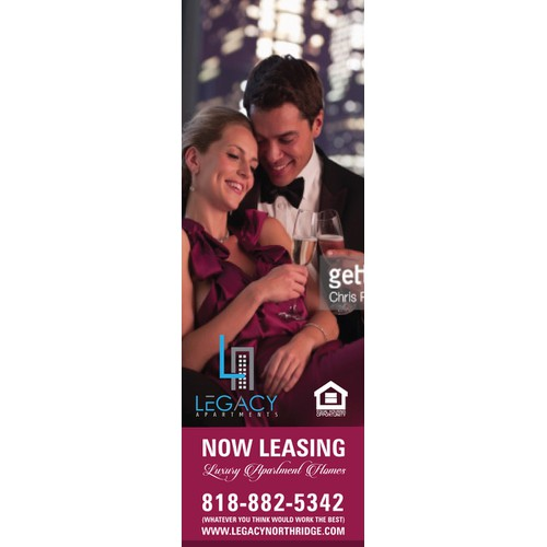 The Legacy Apartments - Building Sign / Banners