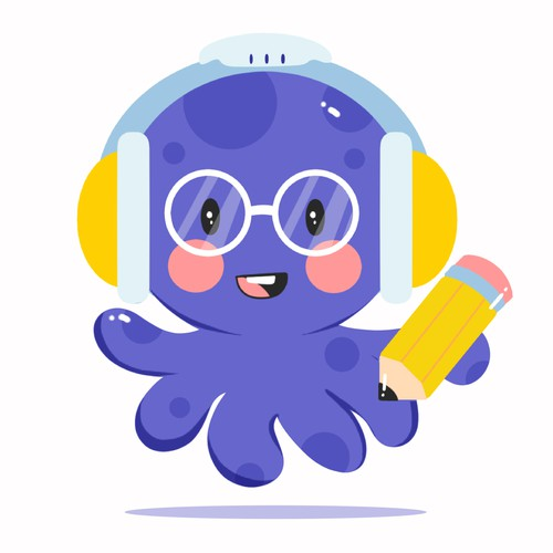 Cute Mascot For Artificial Inteligence