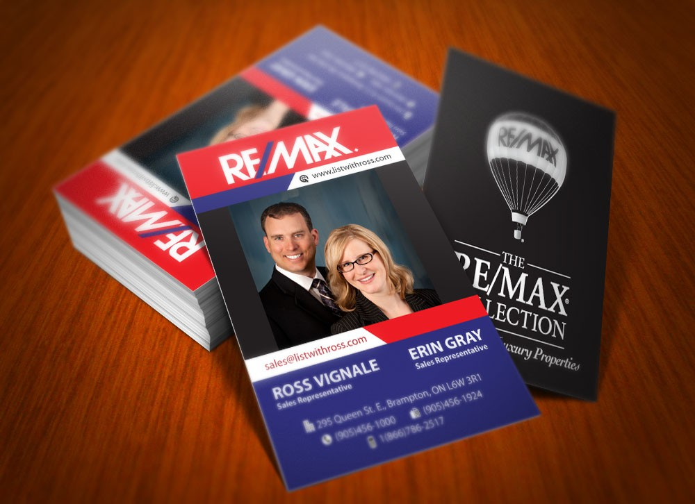 Create the next stationery for RE/MAX REALTY SERVICES INC, BROKERAGE