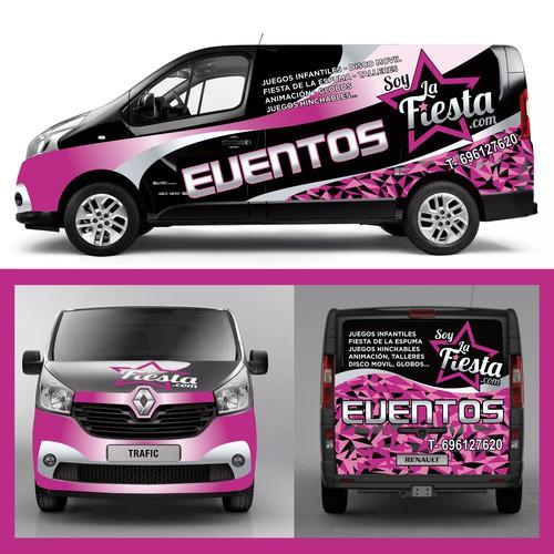 Vehicle Labeling. Soy La Fiesta.