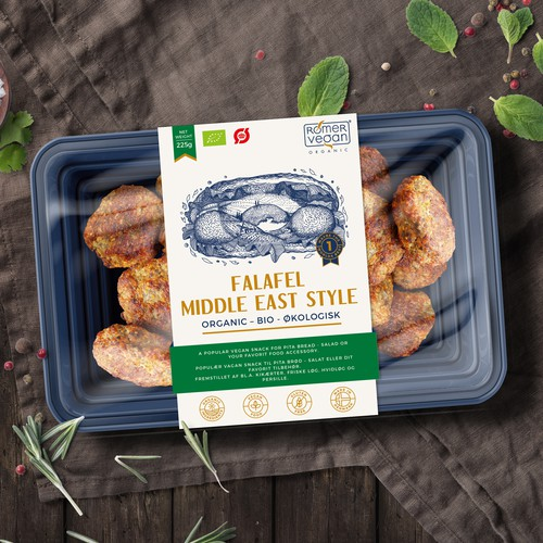 Label design for Falafel