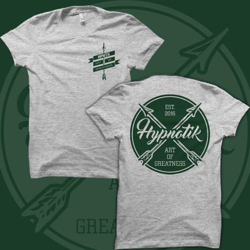 T-Shirt Design for Hypnotik Brand