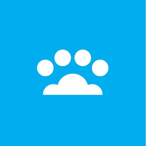 simple, clean logo