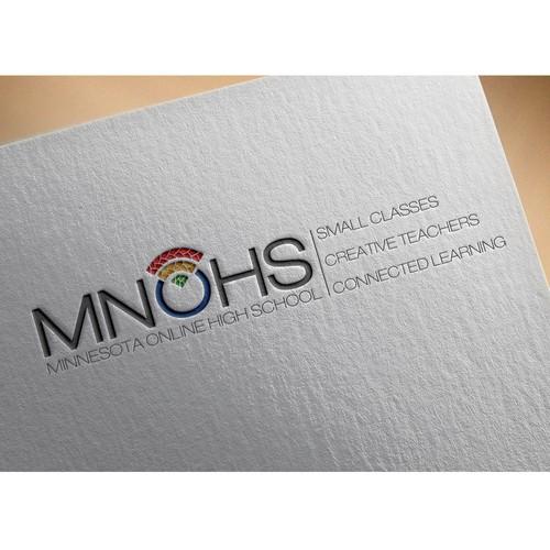 Logo for an online high school