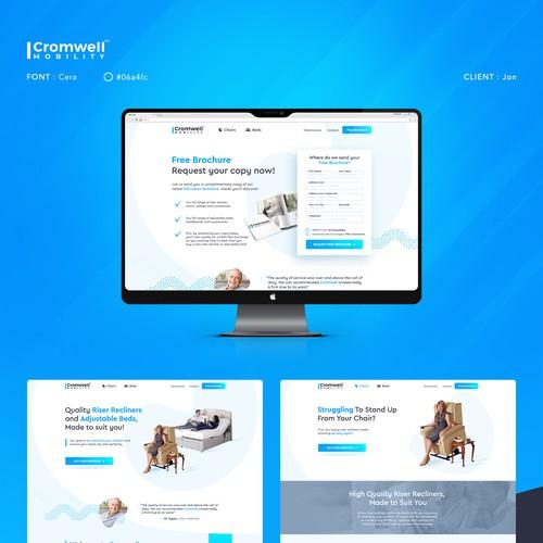 Website design for Jon.