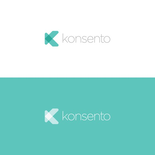 Abstract modern logo design for upcoming app for managing data privacy consents
