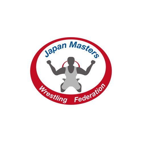 Logo for Japan Masters Wrestling Federation