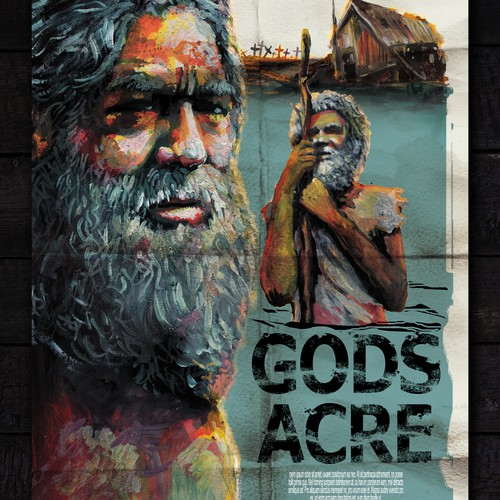 Gods Acre  POSTER- short film about native american man and climate change