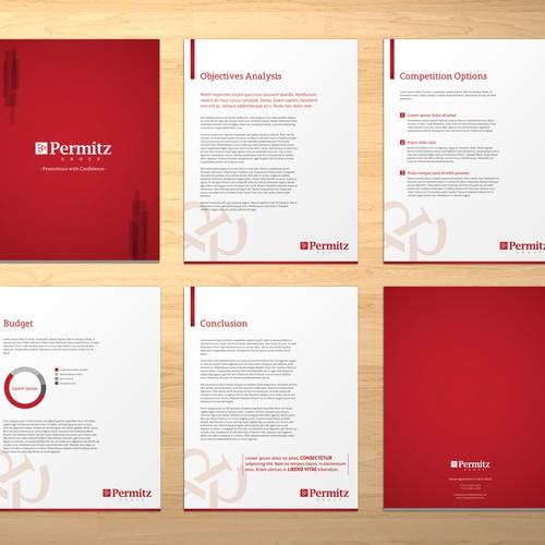 Brochure for Permitz Group
