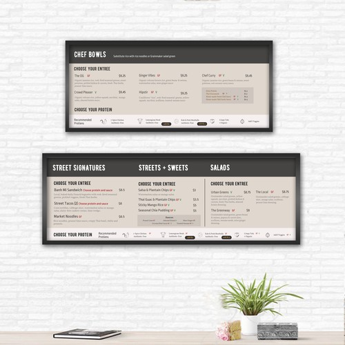 Menu Board Design - Grainmaker