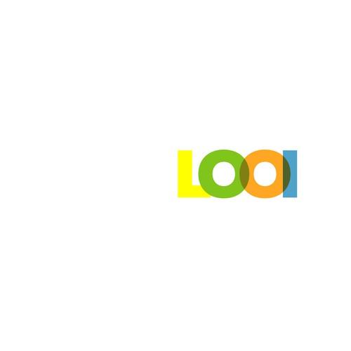 Bold logo, simple design for Looi retail