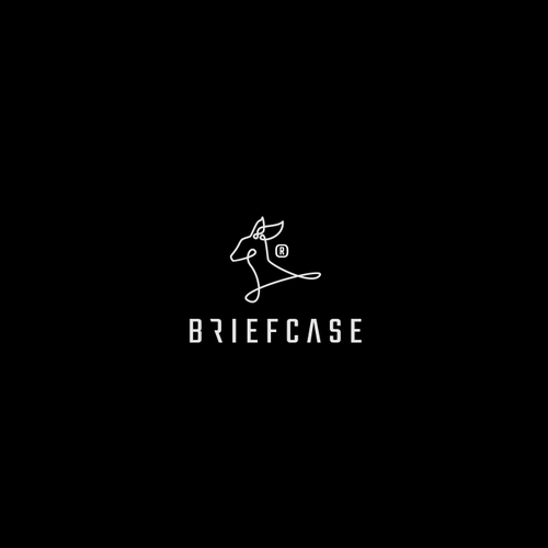 Briefcase Lienal Logo Design