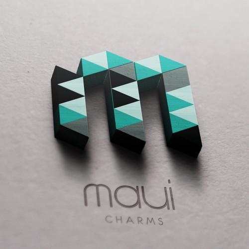 Logodesign for Maui Charms