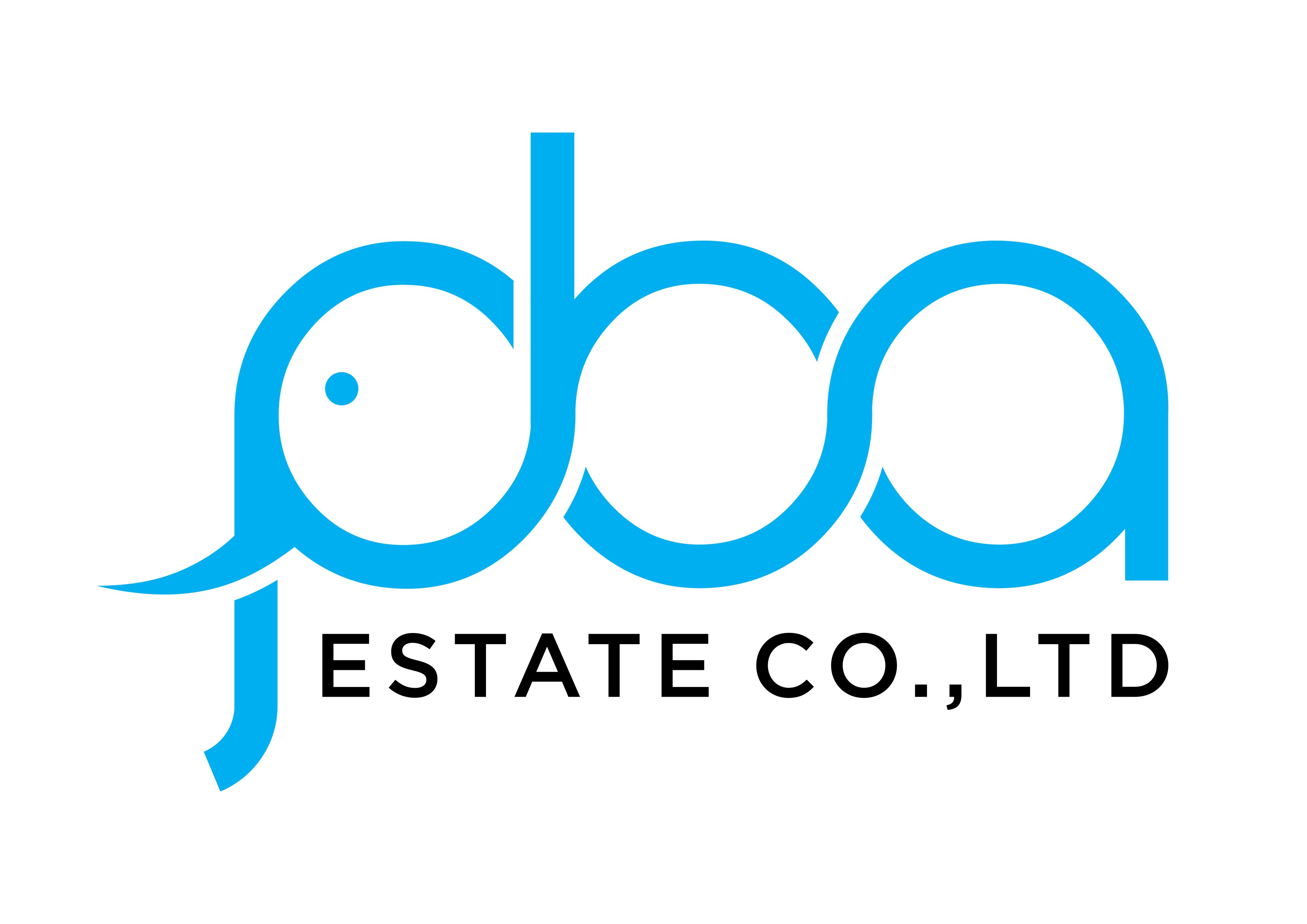 An incredibly clever with hidden meaning logo for PBA ESTATE