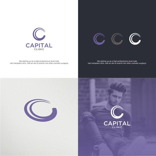 Bold logo concept For Capital Clinic