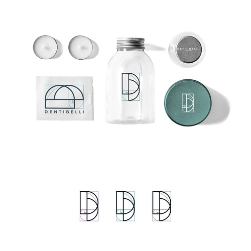 Logo design concept for Denti Belli Dentistry