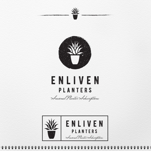 Logo for landscape firm
