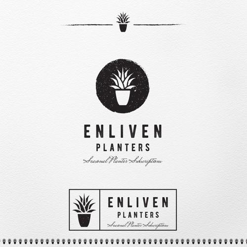 Logo for landscape firm
