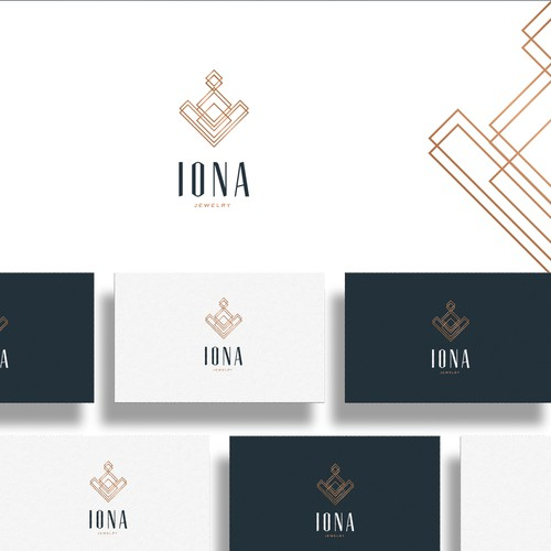 Luxury Logo for Iona Jewelry