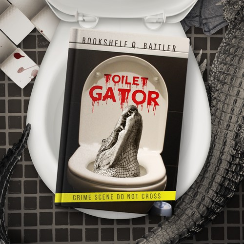 Toilet Gator book cover