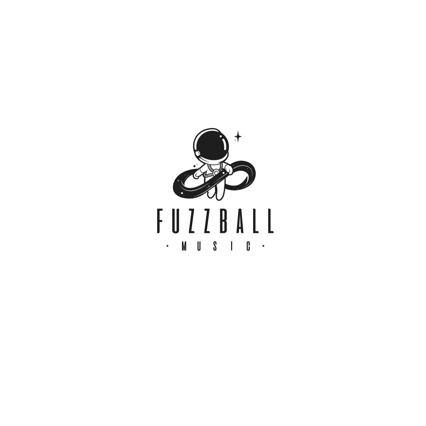 Fuzzball Music a custom music company is looking for a bright, comicbook/skateboarding inspired fun logo
