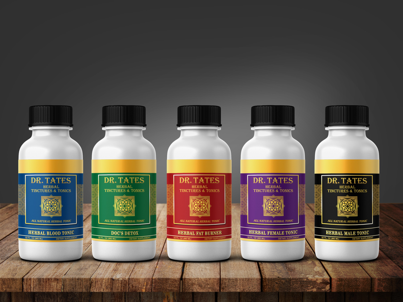 Dr. Tates Herbal Tinctures & Tonics