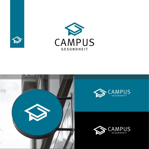 Campus Logo. Campus Gesundheit Logo. Education Logo