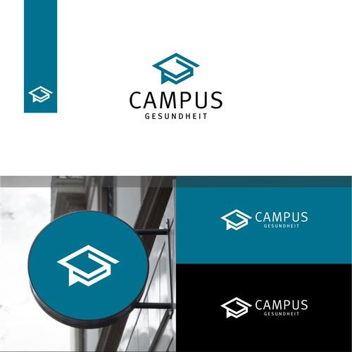 Campus Logo. Campus Gesundheit Logo. Education Logo