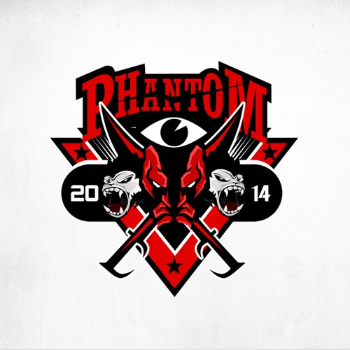 Phantom 2014! Norwegian Russ graduation party logo!