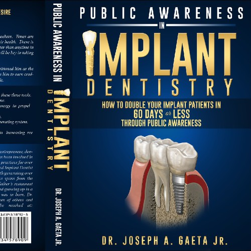 Book Cover Needed That Gets Sales for Dental Niche