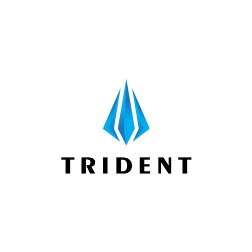 Logo for Trident company.